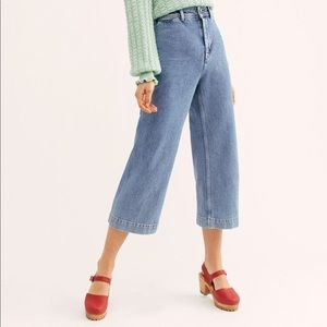 Free People Devon Wide Leg Jeans